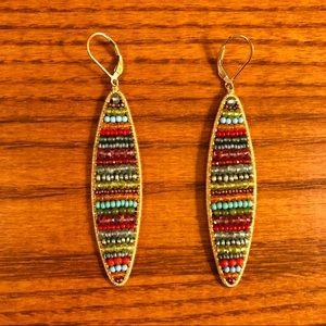 EUC Dana Kellin Fine Jewelry Fiesta Earrings